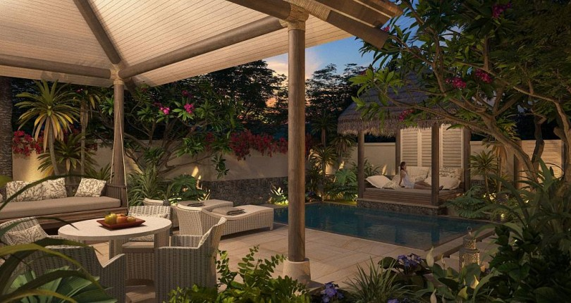 Luxury homes on South Pacific islands cost the same price as a one bedroom unit in the CBD or near the harbour